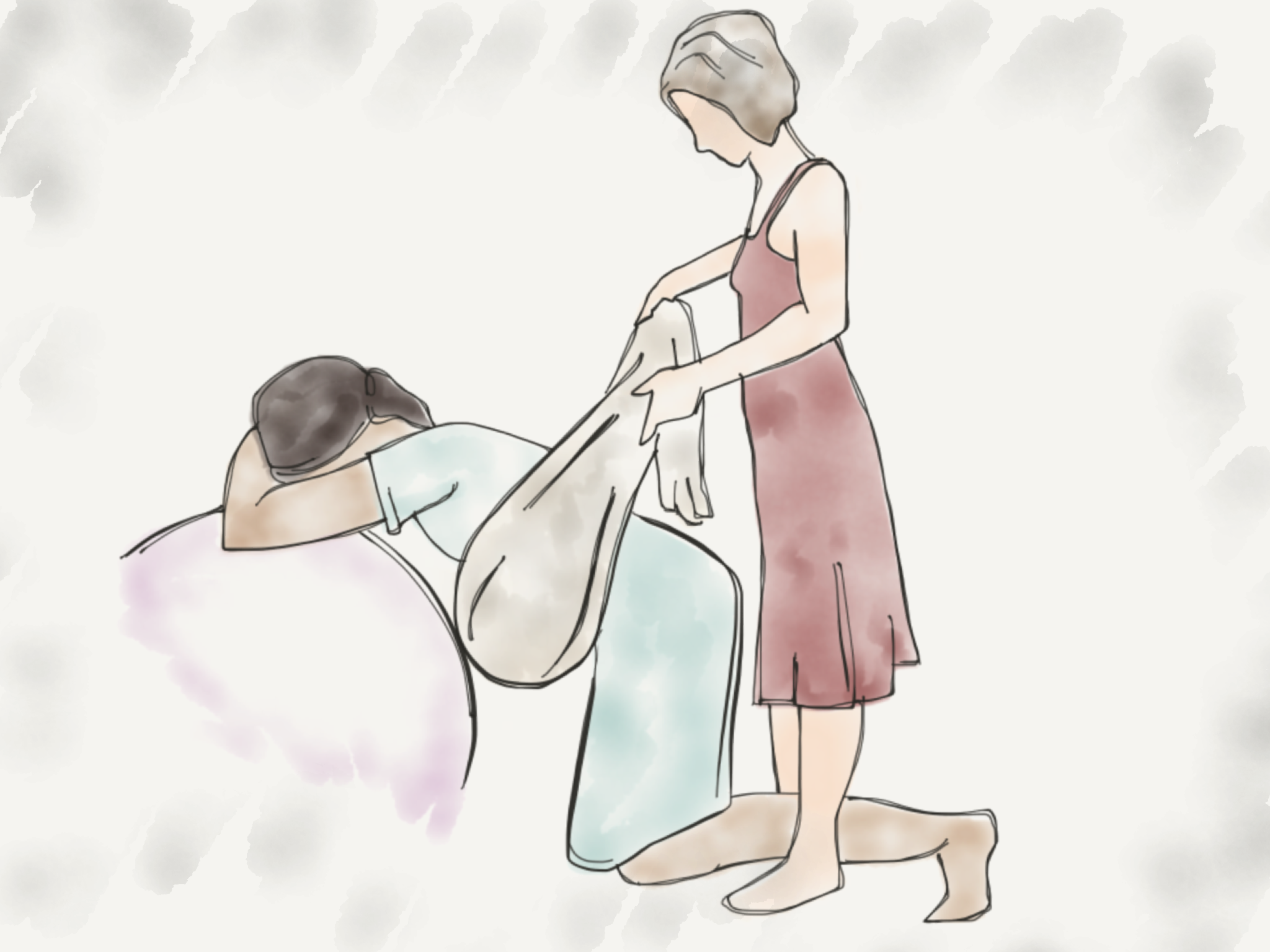 doula rotating baby, op position, posterior, rebozo, meconium, birth story